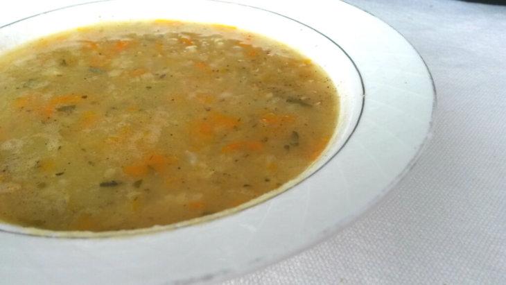 Kerevizli kırmızı mercimek çorbası